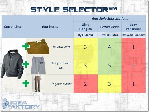 STYLE SELECTOR