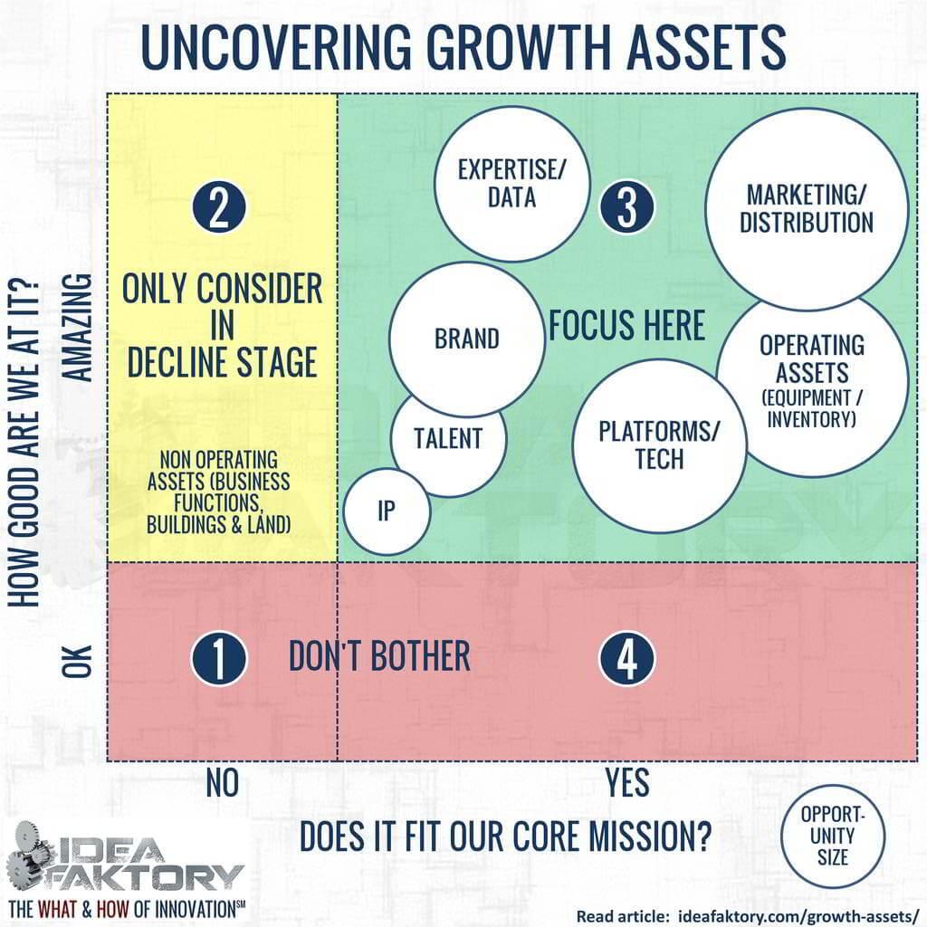 underutilized asset matrix - ideafaktory - steve faktor